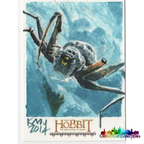 The Hobbit The Desolation Of Smaug Artist Sketch Card
