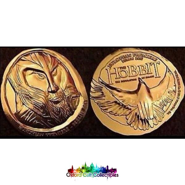 The Hobbit Desolation Of Smaug European Premiere Coin