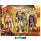 The Hobbit Fimbul The Hunter Grinnah Goblin And Bolg Action Figure Set (An Unexpected Journey)