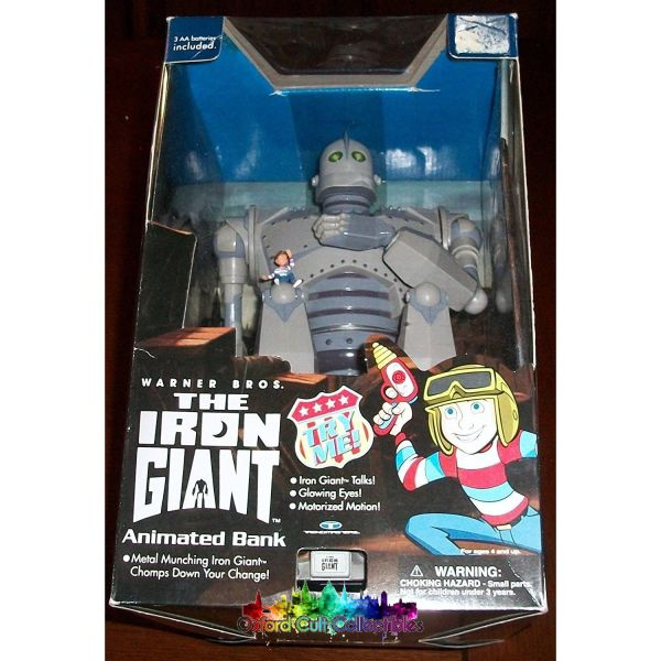 The Iron Giant Animated Coin Bank