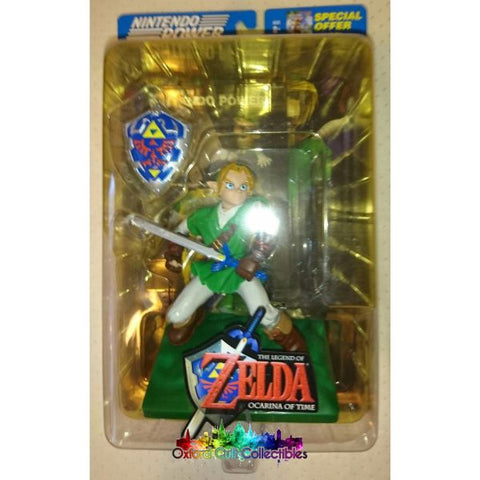 The Legend Of Zelda Link Ocarina Time Action Figure