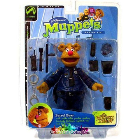 The Muppet Show Patrol Fozzie Bear Action Figure