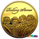 The Rolling Stones Collectible Coin