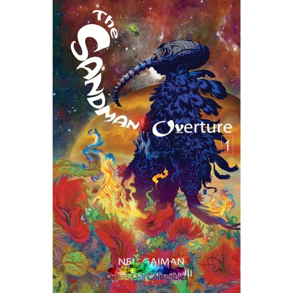 The Sandman Overture Deluxe Edition Graphic Novel (Neil Gaiman/j.h. Williams Iii/dave Stewart) Comics
