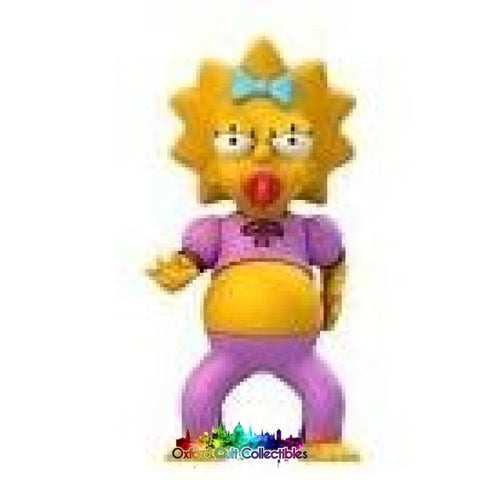 The Simpsons 25 Years Greatest Guest Stars Maggie In Pink Jumpsuit Action Figure