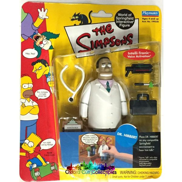 The Simpsons Dr. Hibbert Action Figure