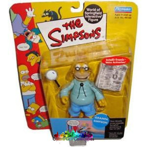 The Simpsons Grandpa Action Figure