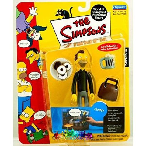 The Simpsons Lenny Action Figure