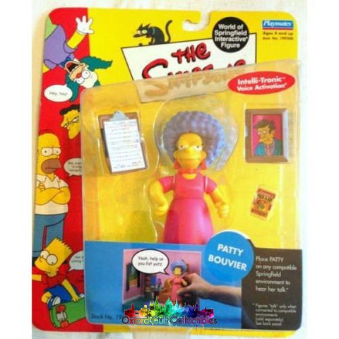 The Simpsons Patty Bouvier Action Figure