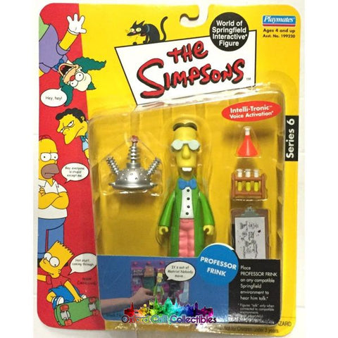 The Simpsons Professor Frink Action Figure