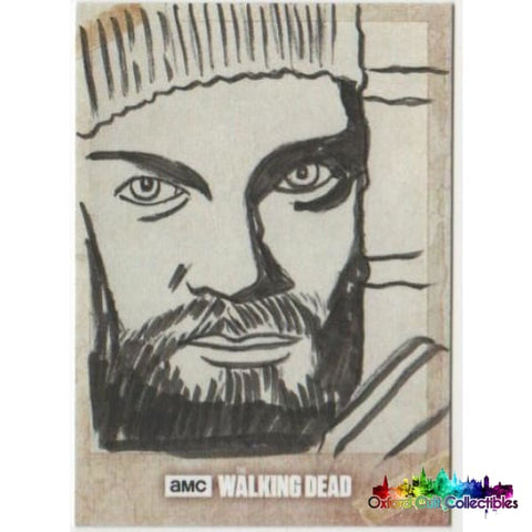 The Walking Dead Artist Proof Sketch Card