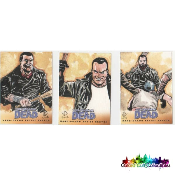 The Walking Dead Artist Sketch Cards Set 1