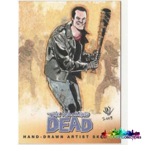 The Walking Dead Artist Sketch Cards Set 2