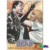 The Walking Dead Artist Sketch Cards Set 3