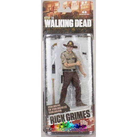 The Walking Dead Series 7 Exclusive Rick Grimes Action Figure Mystery Mini