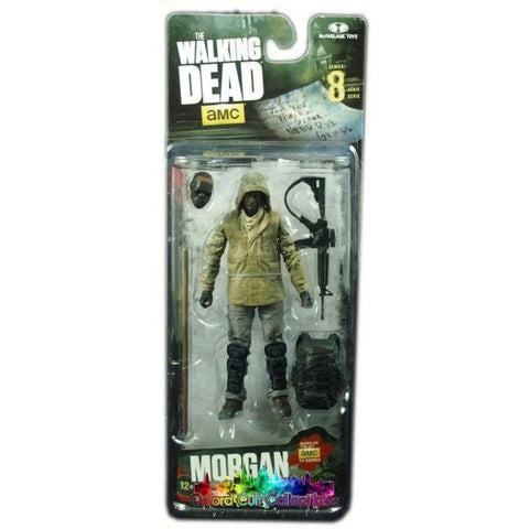 The Walking Dead Series 8 Morgan Jones Action Figure Mystery Mini