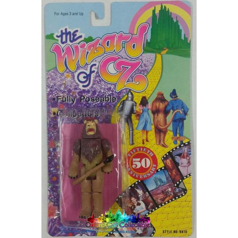 The Wizard Of Oz 50Th Anniversary Cowardly Lion Action Figure
