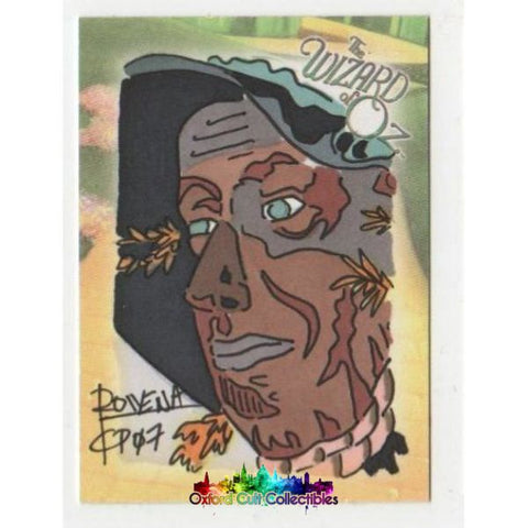 The Wizard Of Oz Artist Sketch Card