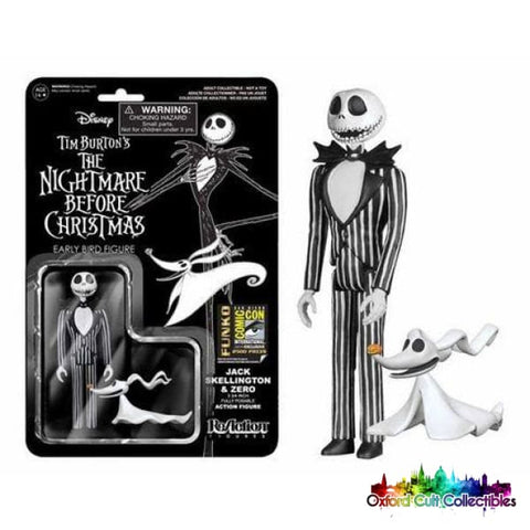 Tim Burtons The Nightmare Before Christmas Jack Skellington Exclusive Action Figure