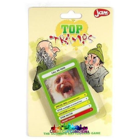 Top Tramps Ultimate Battle Card Game