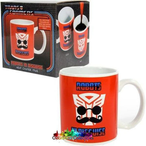 Transformers Heat Changing Autobot Mug