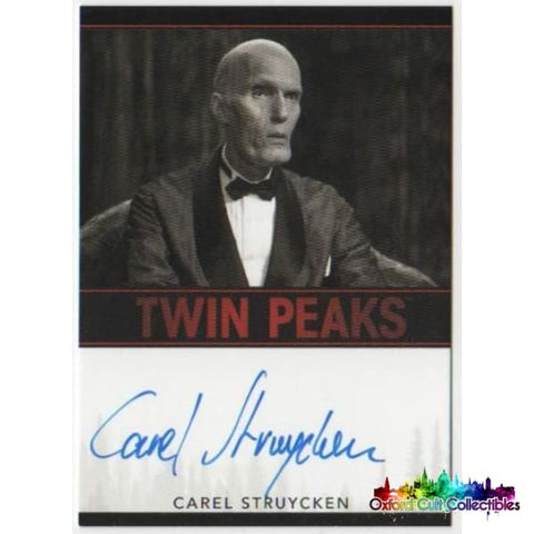 Twin Peaks Carel Struycken As The Fireman Autograph Card