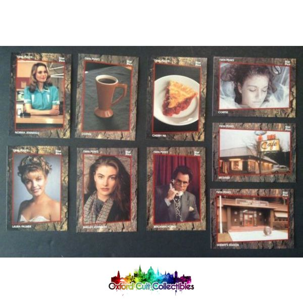 Twin Peaks Collectors Card Set