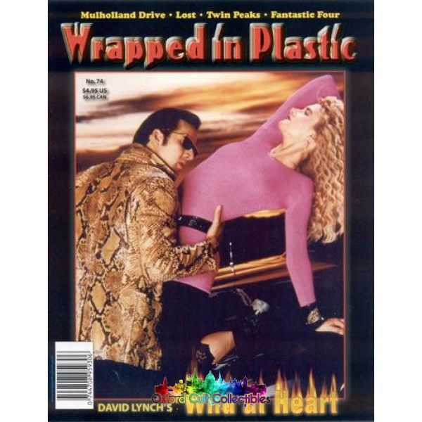 Twin Peaks Wrapped In Plastic Fanzine Magazine #74