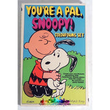 Vintage Snoopy/peanuts Youre A Pal Snoopy! Colorforms Set