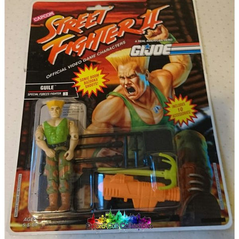 Vintage Street Fighter 2 Guile Action Figure