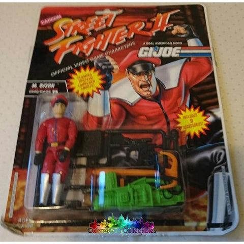 Vintage Street Fighter 2 M Bison Action Figure