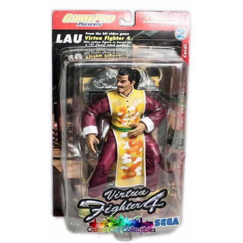 Virtua Fighter 4 Lau Chan Action Figure