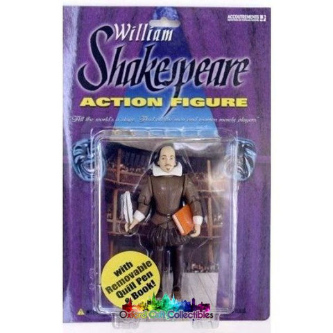 William Shakespeare Action Figure Figures