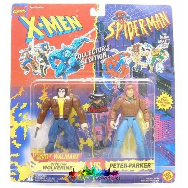 Wolverine Vs Peter Parker Action Figure Set