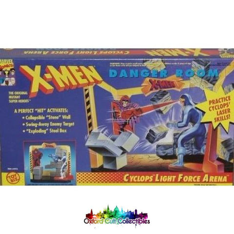X-Men Cyclops Light Force Arena Danger Room Action Figure Diorama Set