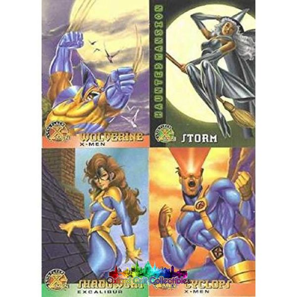 X-Men Trading Card Set