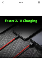 Charge and Sync FAST Charge Cables