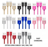 Micro USB Cable - Sync and Charge Cable - 2.1A Fast Charge