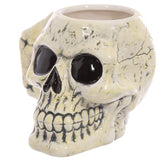 Ancient Skull Shaped Mug angled view