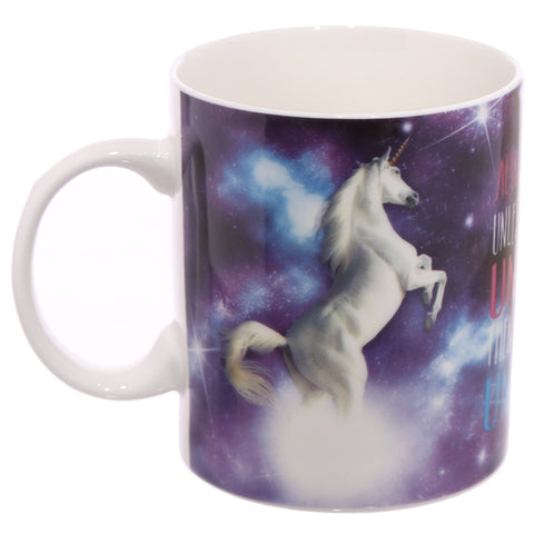 Lauren Billingham Majestic Unicorn Mug side view