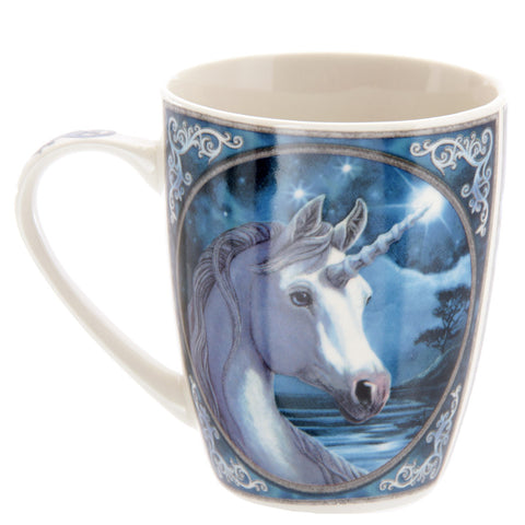 Unicorn Porcelain Mug Side View
