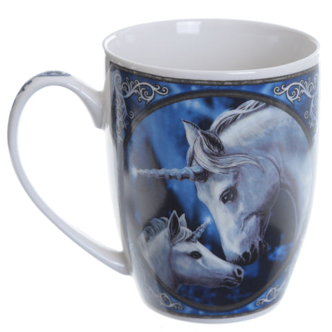 Unicorn Sacred Love Porcelain Mug - Lisa Parker Licensed Design side view