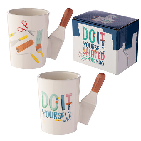 Paint Scraper Shaped Handle Mug