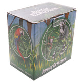 Parrot Shaped Handle Ceramic Garden Mug Box