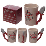Builder Decal with Pliers Shapped Handle Mug and Box