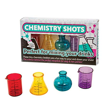Chemistry Shots mixing beakers