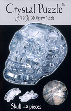 Crystal Puzzle - 3D Jigsaw Puzzle - Skull Box