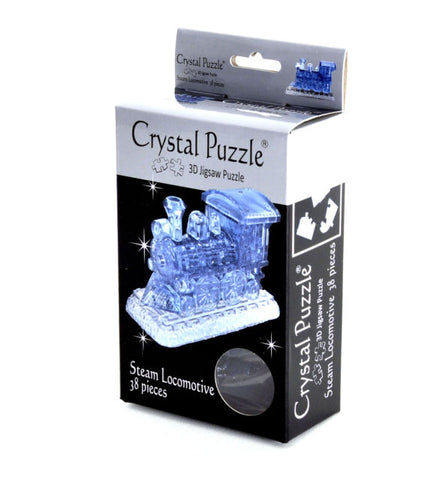 Crystal Puzzle - 3D Jigsaw Puzzle - Train BOX