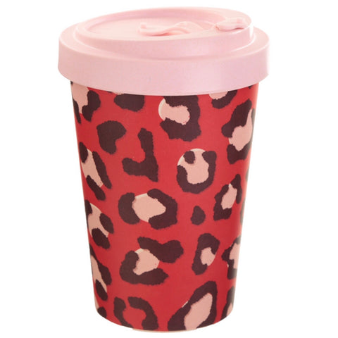 Bamboo Wild Life Screw Top Travel Mug