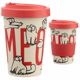 Bamboo Composite Simon's Cat Screw Top Travel Mug
